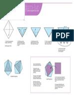 Origami Triangle Box Print