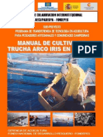 Manual de Crianza de Trucha en Jaulas