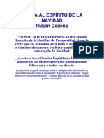 CARTA AL ESPÍRITU DE LA NAVIDAD