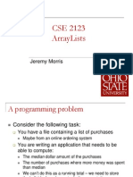 Lecture01-ArrayLists
