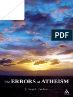 [J. Angelo Corlett] the Errors of Atheism