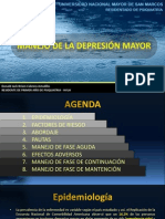 MANEJO DE LA DEPRESIÓN MAYOR