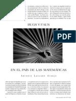 Lazcano Araujo - Bugs Y Faus en El Pais de Las Matematicas