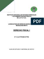Derecho Fiscal i