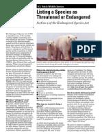 Endangered Species List