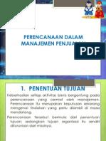 Perencanaan Dalam Manajemen Penjualan