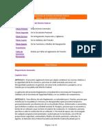 Reglamento transito Mexico Distrito Federal 2009