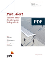 PWC Alert - Business Trust Alternative Listing Vehicle
