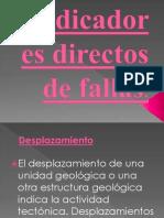 TOPO-Indicadores Directos de Fallas