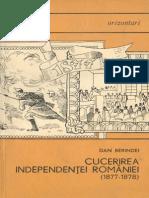 Dan Berindei - Cucerirea independenţei României 1877-1878 [1967]