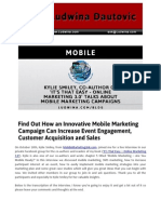 Blog Post Find Out How an Innovative Mobile Marketing Campaign Can Increase Event Engagement Customer Acquisition and Sales