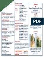 Workshop Leaflet QESS-2013