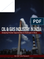 """Oil & Gas Sector in India- Analysing Frontier Opportunity & Challenges"""""""