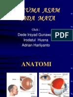 Acid Trauma in Eye