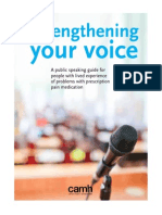 Strengthening Your Voice