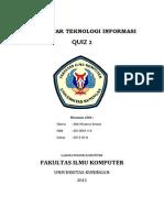 Pengantar Teknologi Informasi_quis 2