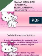 Kecerdasan Emosi Dan Spiritual