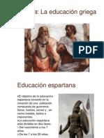 Educacin en Grecia y Roma