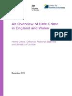 Hate Crime 2013