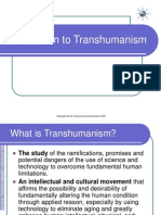 What is Transhumanism