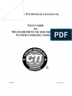 CTI Test Code for Sound Measurement