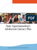 wi adolescent literacy plan