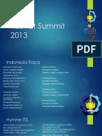 Kastrat Summit 2013 - BEM ITS 2013/2014