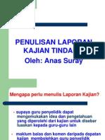 CaraPenulisan Laporan Kajian Tindakan 2006