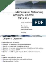 Cis81 CCNA1v5 5 Ethernet Part2