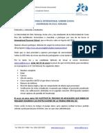 BECASPARA EL INTERNATIONAL SUMMER SCHOOL UNIVERSIDAD DE OSLO, NORUEGA