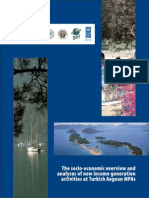 The Socio-economic Overview and Analysis of New Income Generation Activities at Turkish Aegean MPAs
