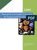 Manual de Actividades Preparación Pre-Quirúrgica