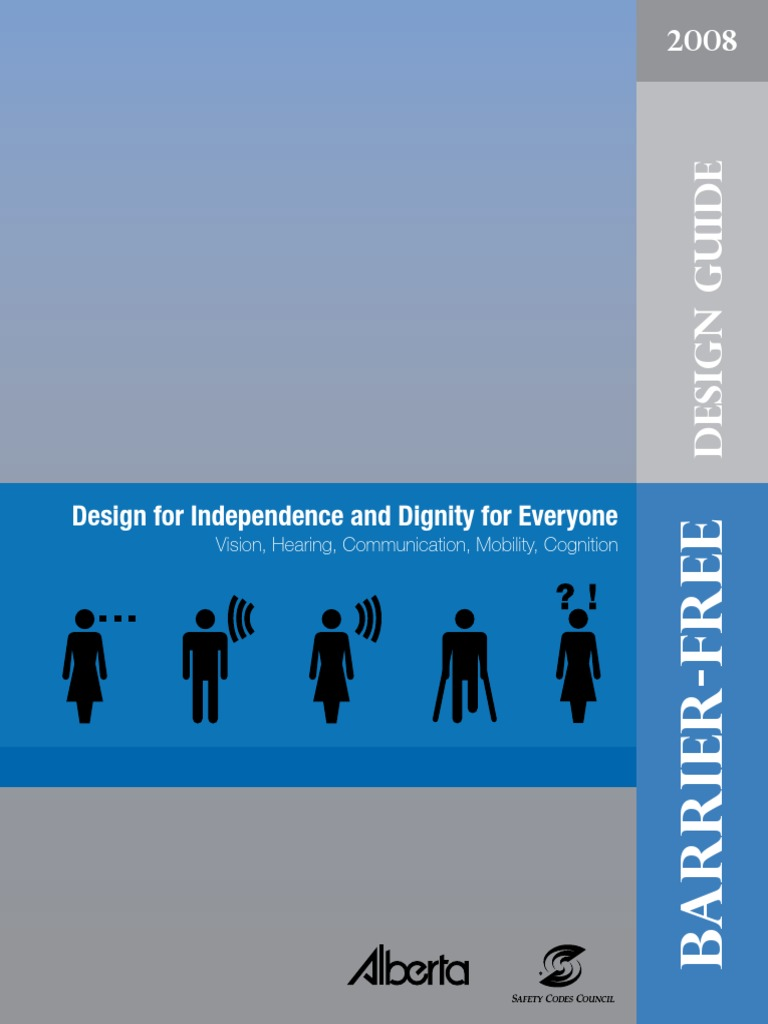 Barrier-free design guide #1