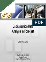Capitalization Rate Analysis