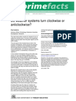 Do Weather Systems Turn Clockwise or Anticlockwise