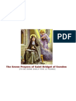 BOOK the 7 Prayers Jesus Gave to Saint Bridget of Sweden
