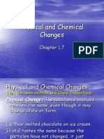 4 - Physical and Chemical Changes