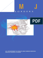 Tmj disorders National Institute
