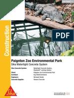 Sika Case Study Paignton Zoo