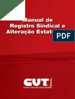 Manual de Registro Sindical e Alteracao Estatuaria(1)