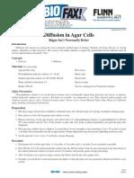 Diffusion Agar