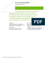 ITIL V3 Foundation Hf421s