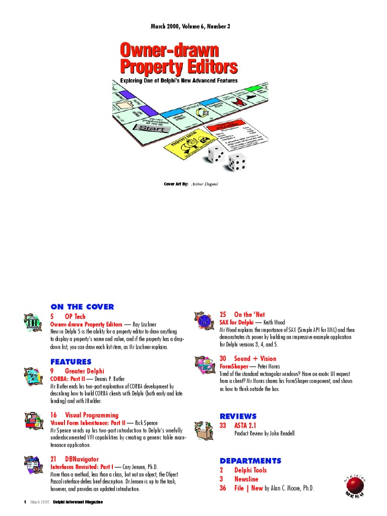 Delphi Informant Magazine Vol 6 No 3 | Common Object Request Broker