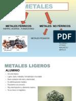 Metales Ligeros