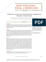 Condom Use and the Risk of Genital Human Papillomavirus Infection in Young Women