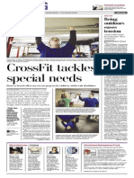 Living cover - York Daily Record/Sunday News - Monday, Jan. 6, 2014