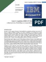 Lenovo IBM