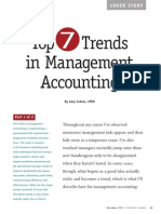 Top 7 trends in management accounting