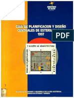Guía de Planificación y Diseño Centrales de Esterilización