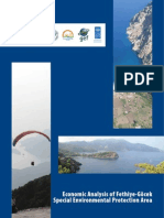 Economic Analysis of Fethiye Gocek Special Environmental Protection Area
